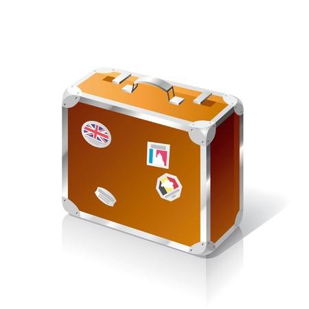 3726694 - vector suitcase